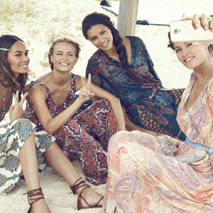 H&M, BTS, Adriana Lima, Joan Smalls, Natasha Poly, and Doutzen Kroes