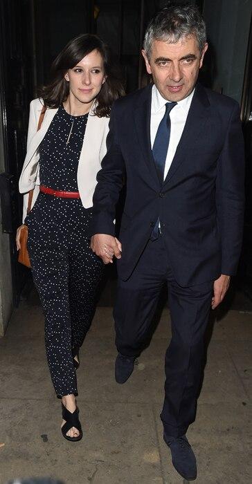 Louise Ford, Rowan Atkinson