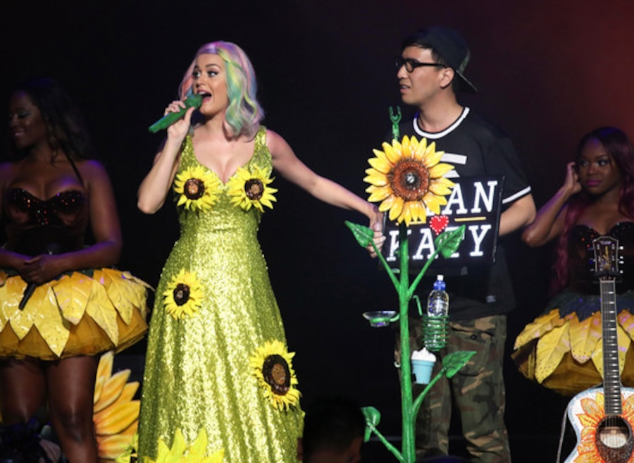 Katy Perry, Sunflower Dress