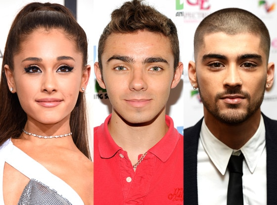 Ariana Grande, Zayn Malik, Nathan Sykes