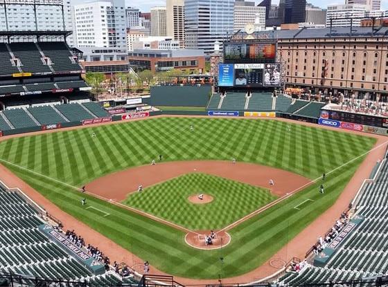 Baltimore Orioles, Empty Stadium, Twitter