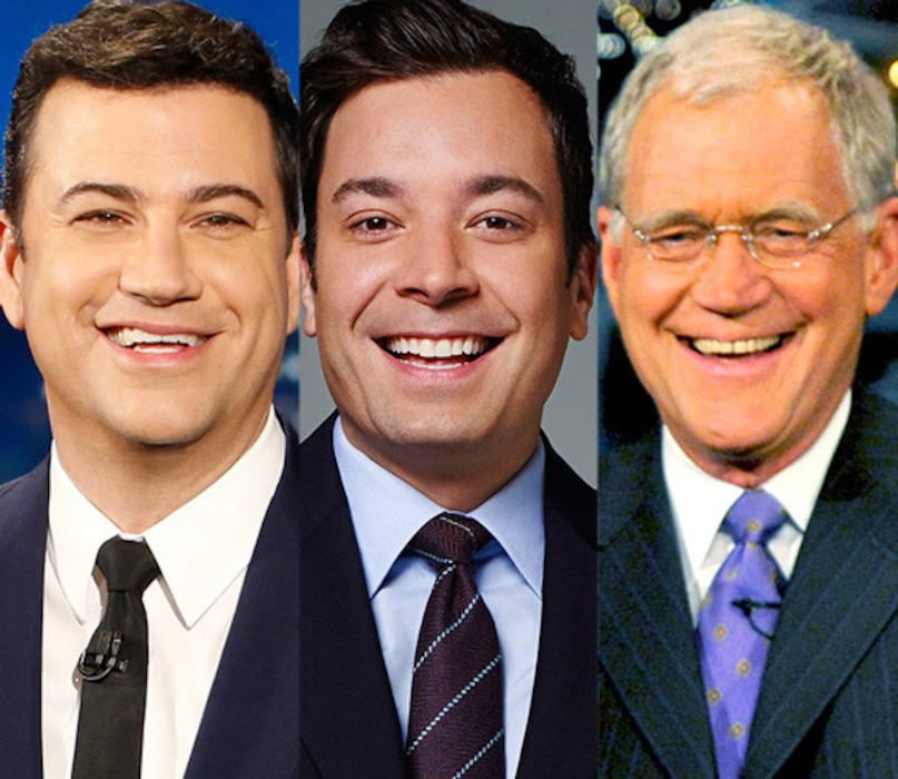 Jimmy Fallon, Jimmy Kimmel, David Letterman