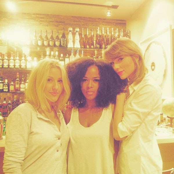 Ellie Goulding, Sereyah, Taylor Swift, Instagram