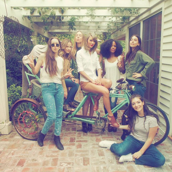 Sereyah, Haim, Lorde, Taylor Swift, Instagram