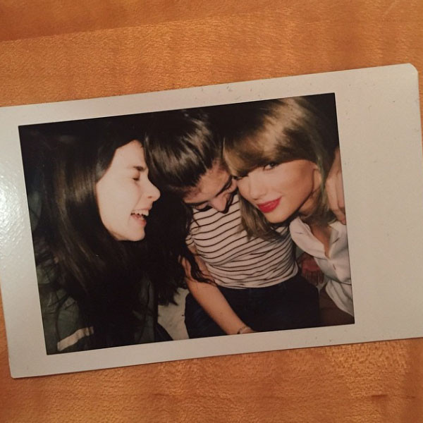Lorde, Taylor Swift, Instagram