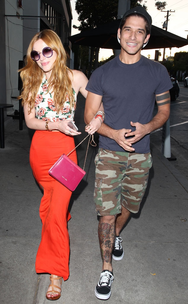 Tyler posey with his ex girlfriend Bella Thorne