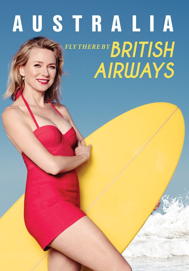 Naomi Watts, British Airways