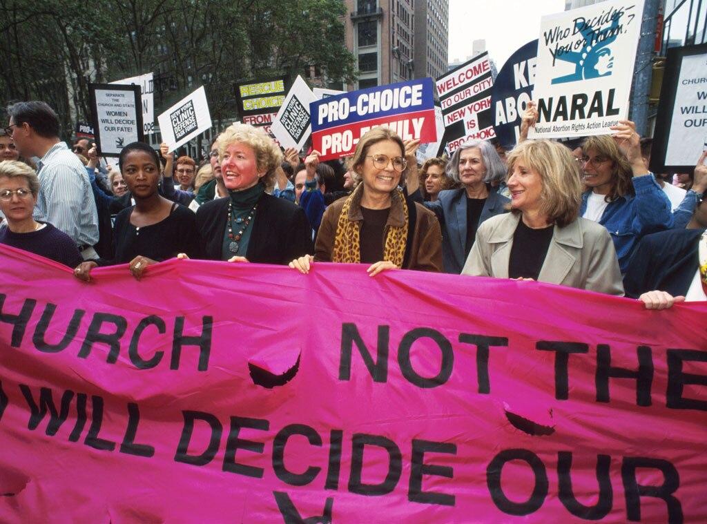 Gloria Steinem, Protest