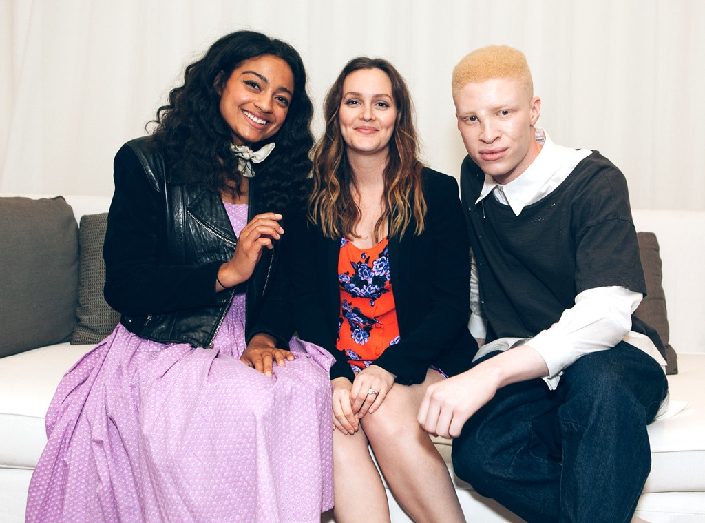 Shaun Ross, Leighton Meester, Dana Williams