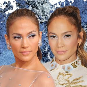 Jennifer Lopez, Blue Eyeshadow