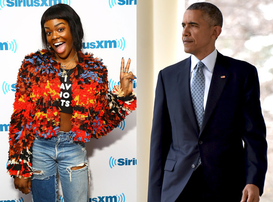 Azealia Banks, Barack Obama