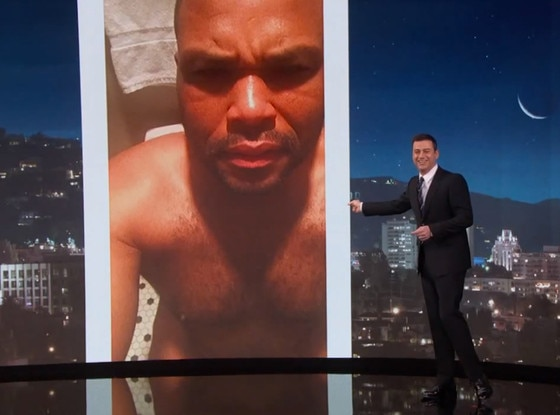 Jimmy Kimmel, Accieental Selfie, Anthony Anderson