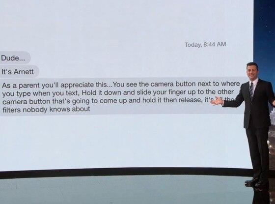 Jimmy Kimmel, Accieental Selfie