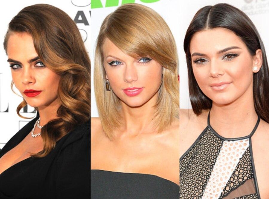 Taylor Swift, Kendall Jenner, Cara Delevingne