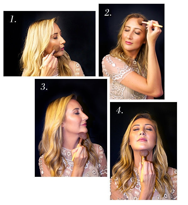 ESC, Contouring with Carly Christman 1-4
