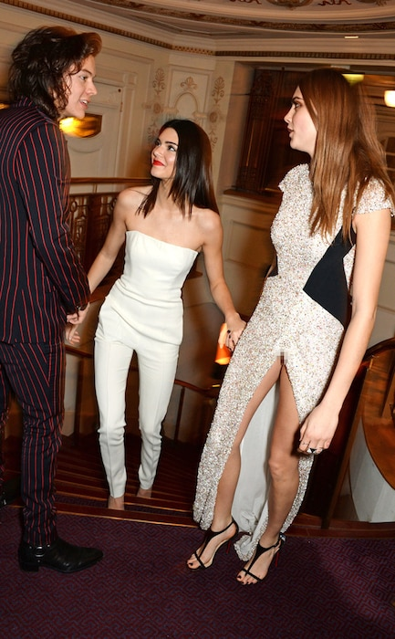 Harry Styles, Kendall Jenner, Cara Delevingne