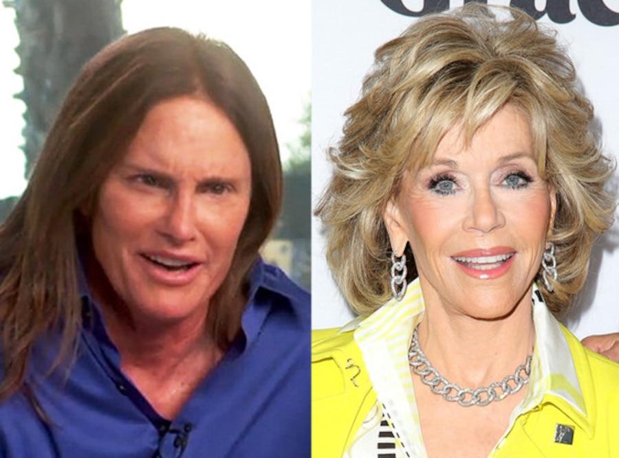 Bruce Jenner, Jane Fonda