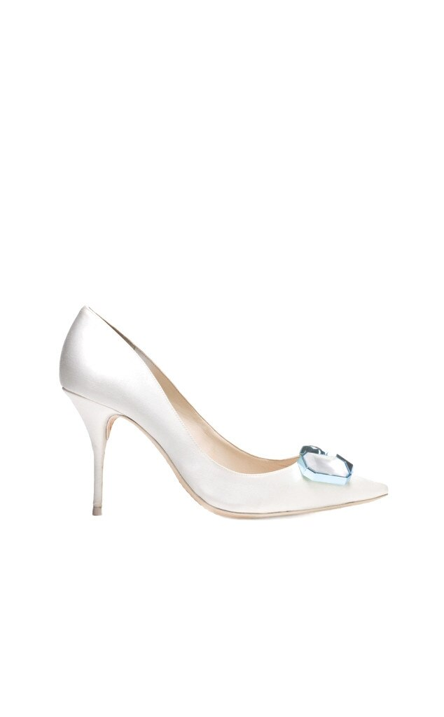 Sophia webster from step up your bridal shoe game e news for Sophia webster wedding shoes