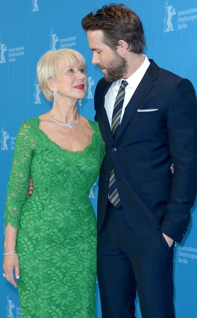 Helen Mirren, Ryan Reynolds