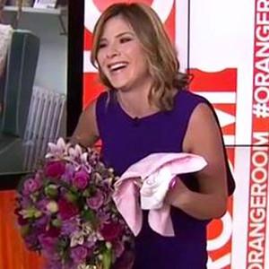 Jenna Bush Hager, Pregnant