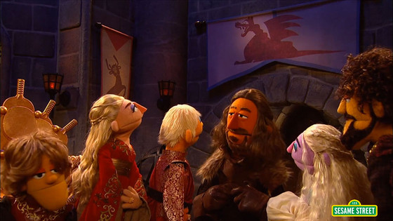 Game Of Chairs, Sesame Street
