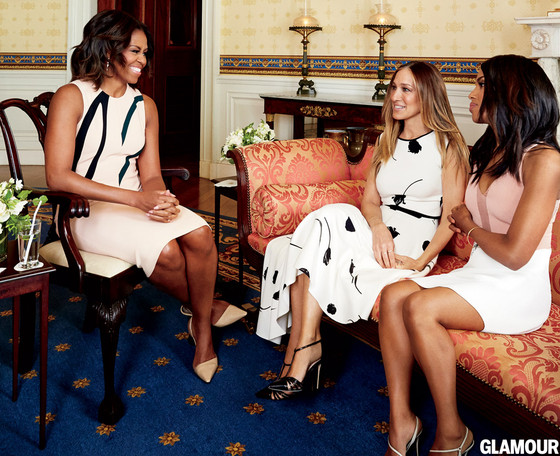 Michelle Obama, Sarah Jessica Parker, Kerry Washington, Glamour