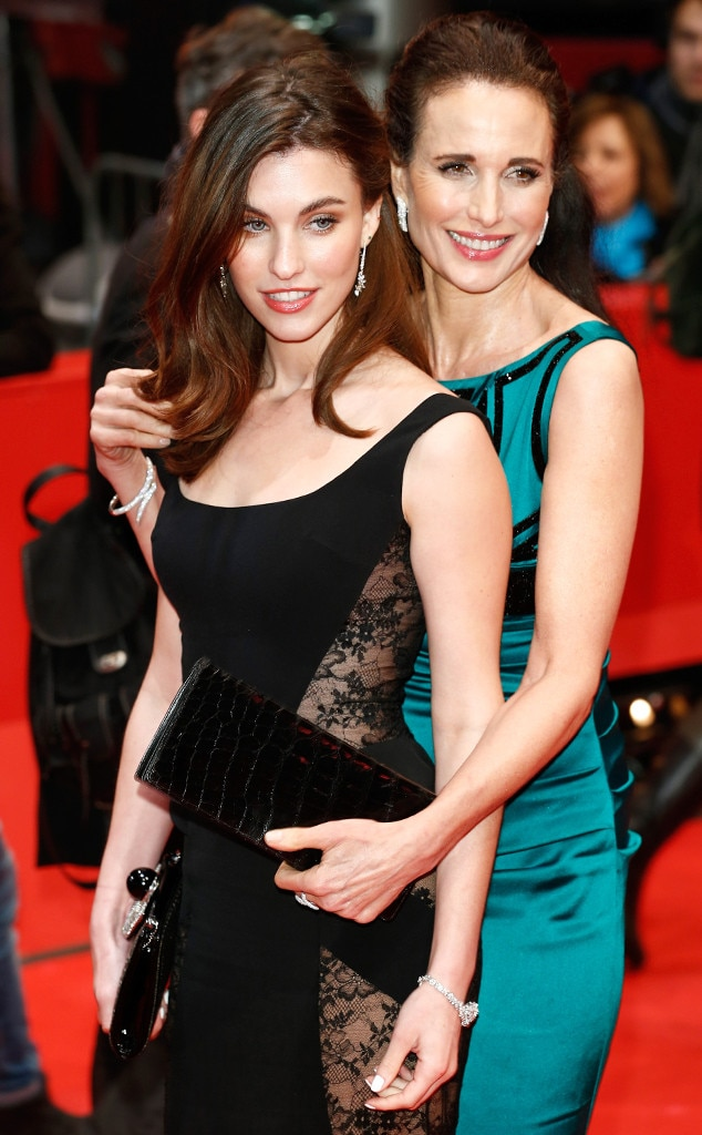 Andie MacDowell, Rainey Qualley
