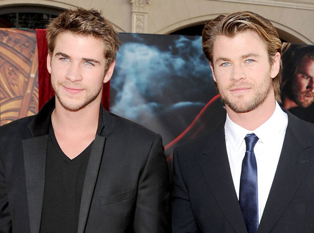 Liam Hemsworth, Chris Hemsworth