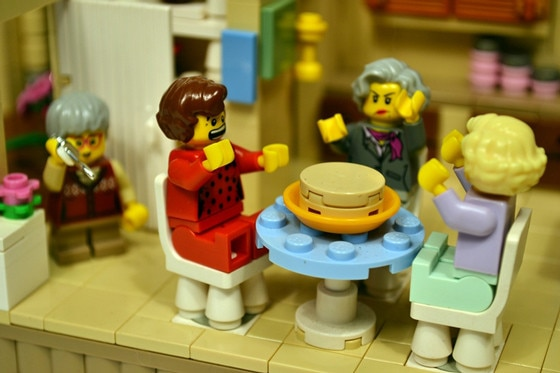 Golden Girls Lego