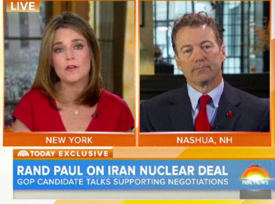 Savannah Guthrie, Rand Paul