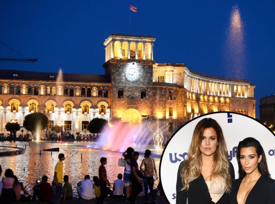Armenia, Kim Kardashian, Khloe Kardashian