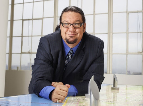penn jillette height