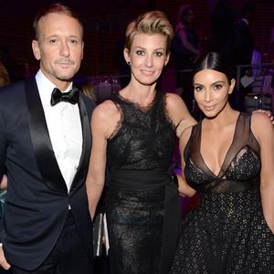 Kim Kardashian, Faith Hill, Tim McGraw