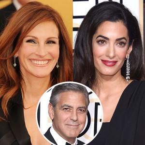 Julia Roberts, Amal Clooney, George Clooney