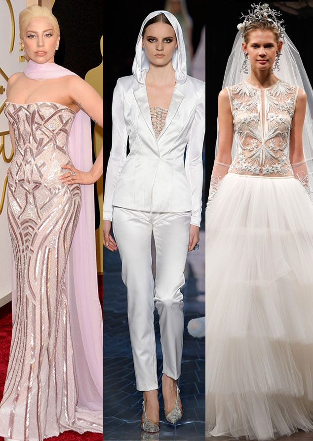 Celeb Wedding Gown Predictions, Lady Gaga