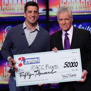 Aaron Rodgers, Celebrity Jeopardy Winner