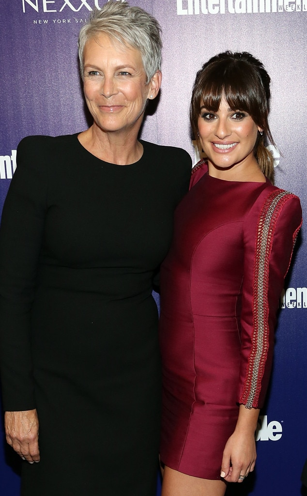 Lea Michele, Jamie Lee Curtis, Fox Upfronts