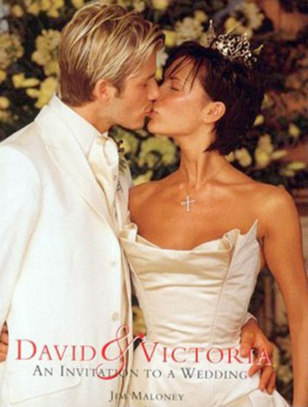 Plastic Wedding Bands >> Victoria Beckham from Celeb Wedding Dresses | E! News