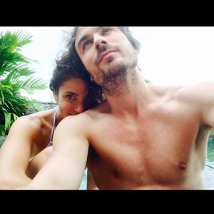 Ian Somerhalder, Nikki Reed, Instagram