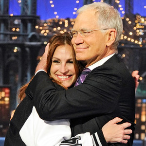 Julia Roberts, David Letterman