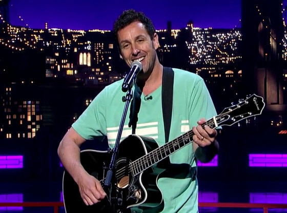 Adam Sandler, David Letterman Song