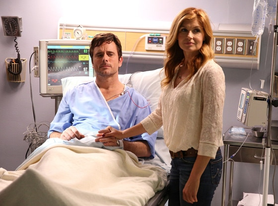 Connie Britton, Charles Esten, Nashville