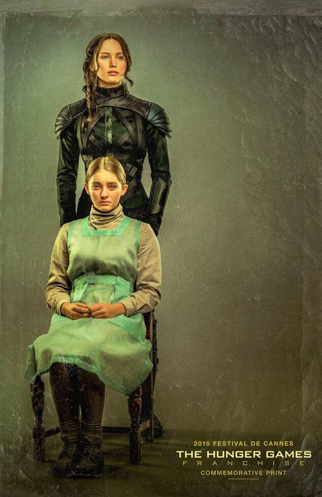 Jennifer Lawrence, Willow Shields, Hunger Games: Mockingjay Part 2, Art