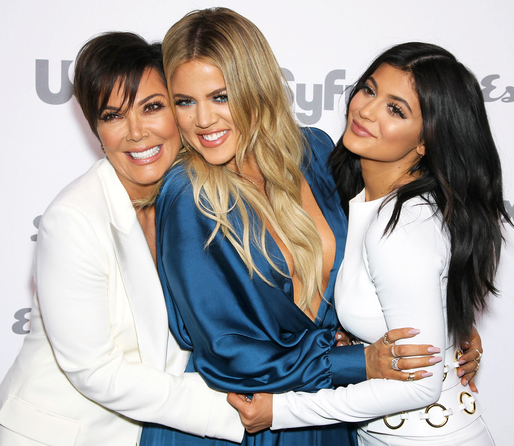 Kris Jenner, Khloe Kardashian, Kylie Jenner, NBC Upfronts