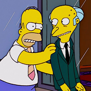 Homer Simpson, Mr. Burns, The Simpsons