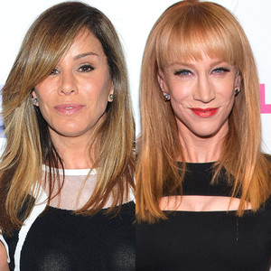 Melissa Rivers. Kathy Griffin