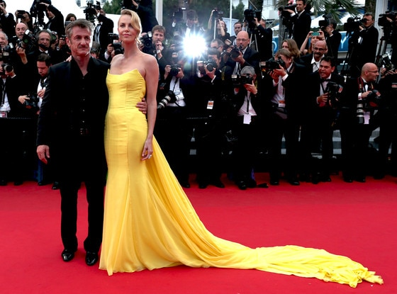 Sean Penn, Charlize Theron, Cannes 2015