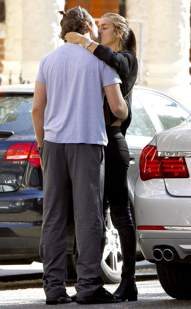 Irina Shayk and her boyfriend Bradley Cooper