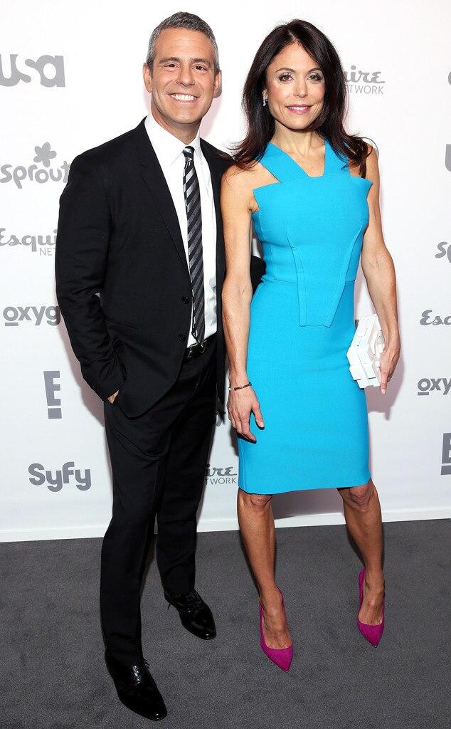 Andy Cohen, Bethenny Frankel, NBC Upfronts