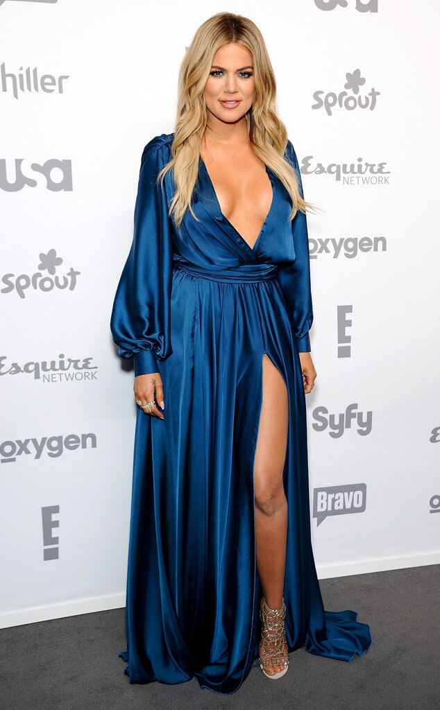 Khlo 233 Kardashian From 2015 Nbcu Cable Upfront Red Carpet